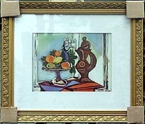 """Still Life D""     Pablo Picasso"