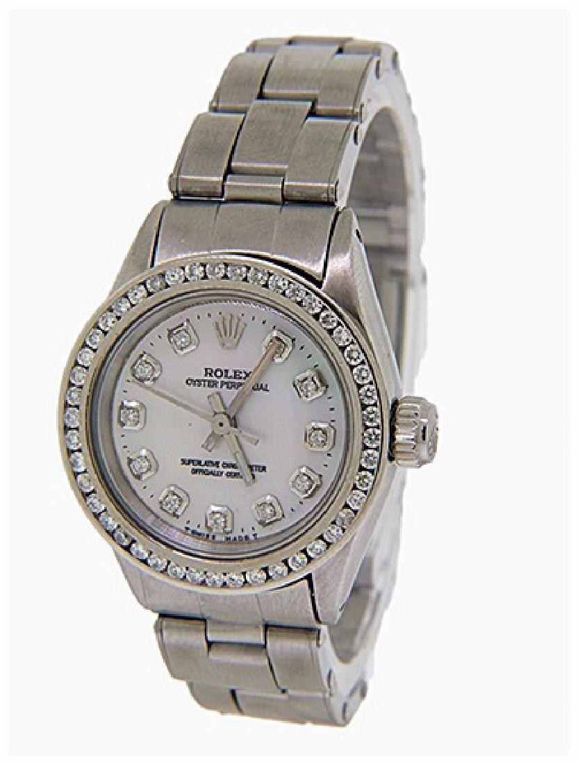 Men's Custom Oyster Perpetual Rolex Watch