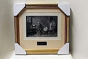 """""""The Huguenst""""     Artist J.D. Linton"""