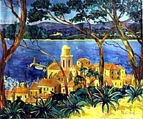 Acrylic on Canvas     Nicolas B