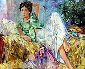 Acrylic on Canvas     S. Ignater