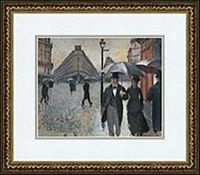 PARIS, A RAINY DAY, 1877     GUSTAVE CAILLEBOTTE