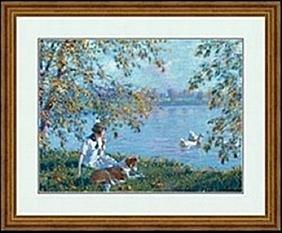 NOON     THE LAKE     EDWARD DUFNER