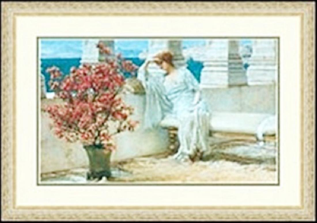 HER EYES ARE WITH THOUGHTS     SIR LAWRENCE ALMA-TADEMA