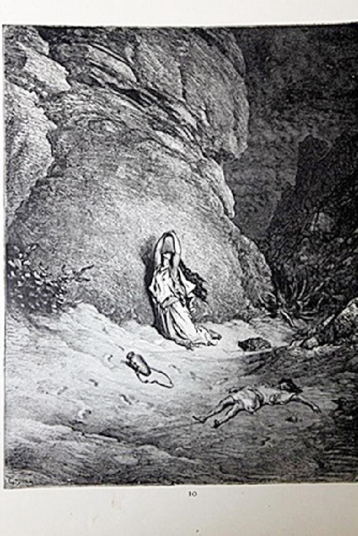 "The Dore Bible Gallery ""Hagar in the Wilderness"""