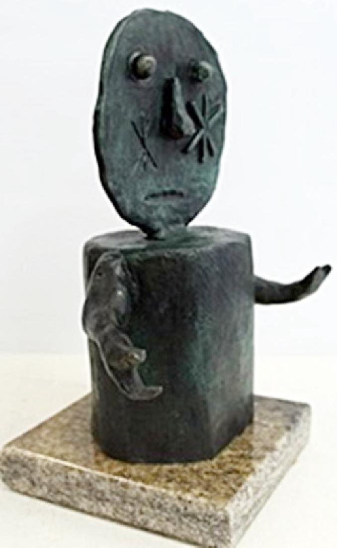 Patina Bronze Sculpture  Rufino Tamayo - 2