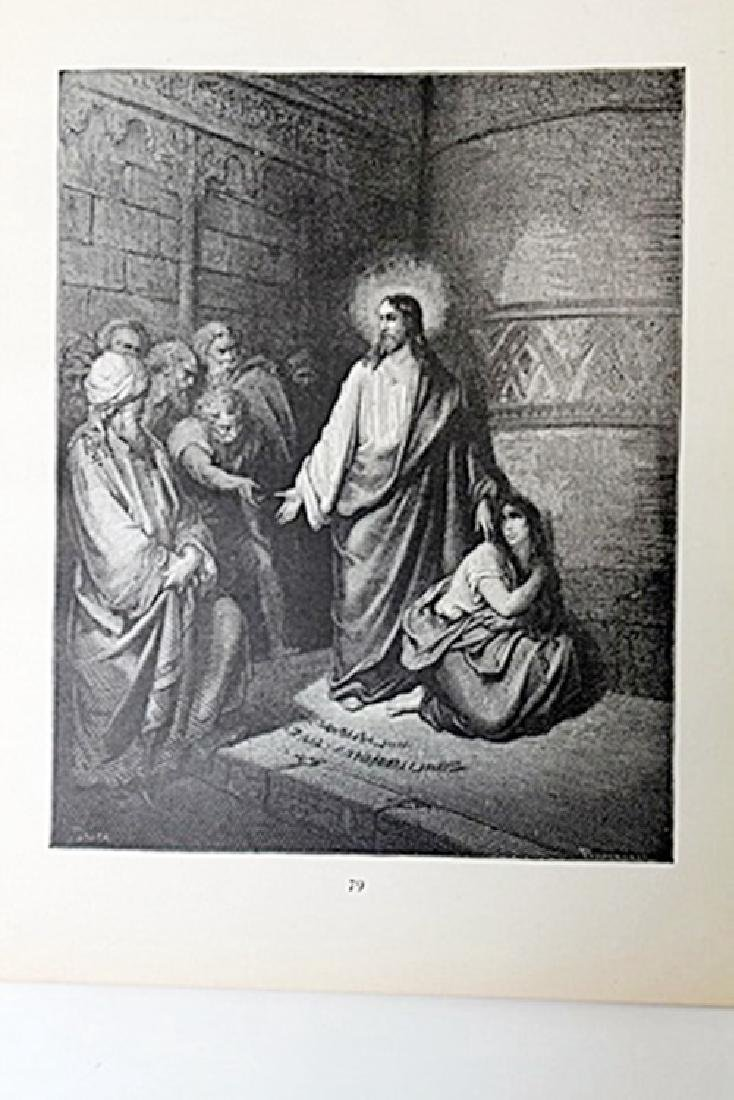 """The Dore Bible Gallery """"Jesus and the Woman Taken in"""