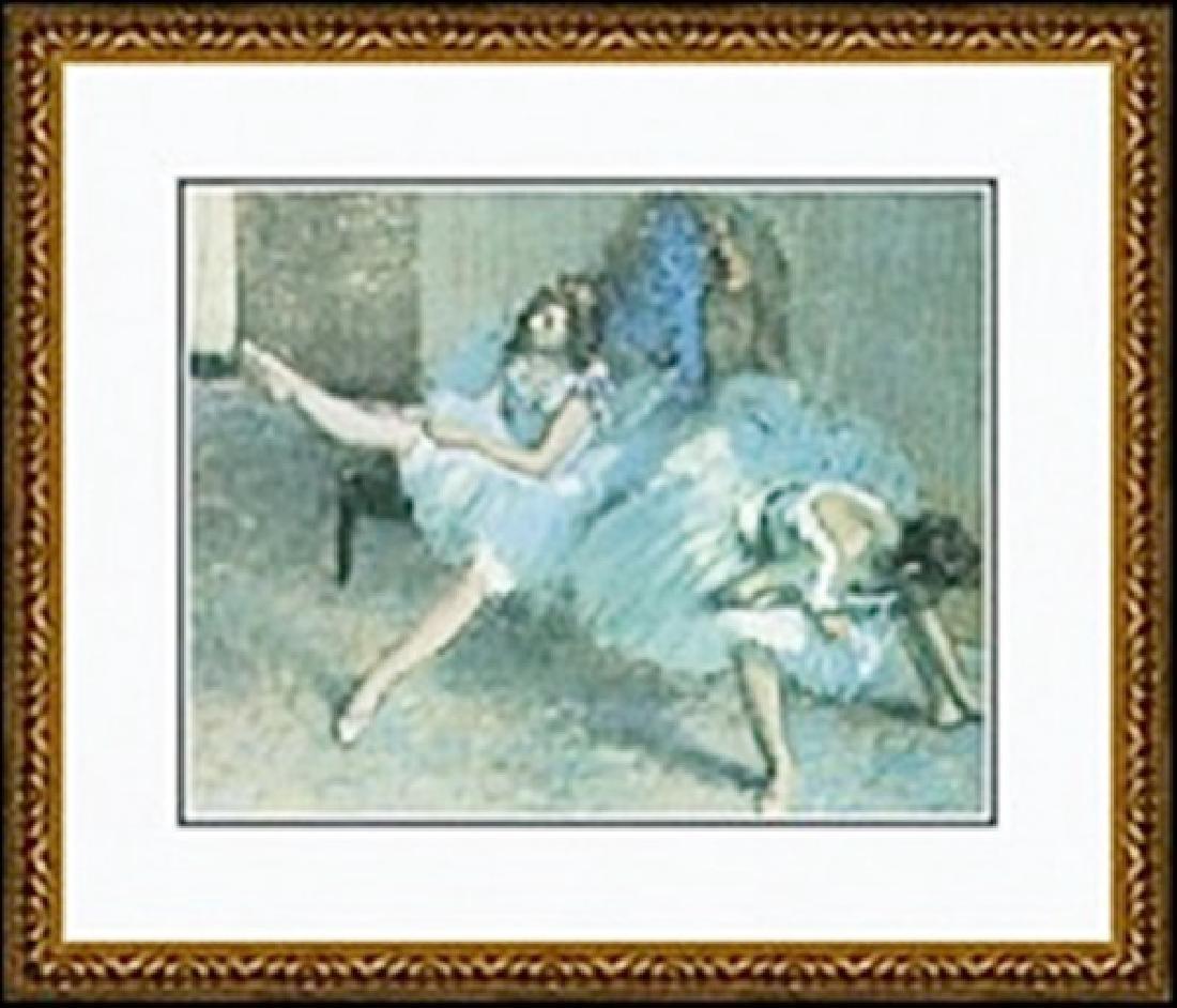 BEFORE THE BALLET(DETAIL), 1888     EDGAR DEGAS