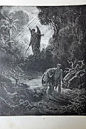 """The Dore Bible Gallery """"the Expulsion From The Garden"""""""