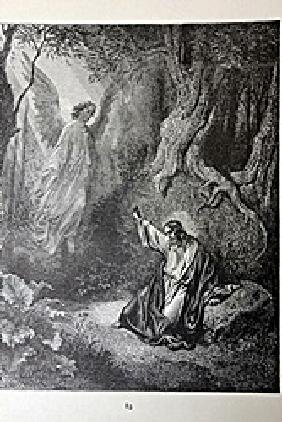 """The Dore Bible Gallery """"the Agony In The Garden"""""""