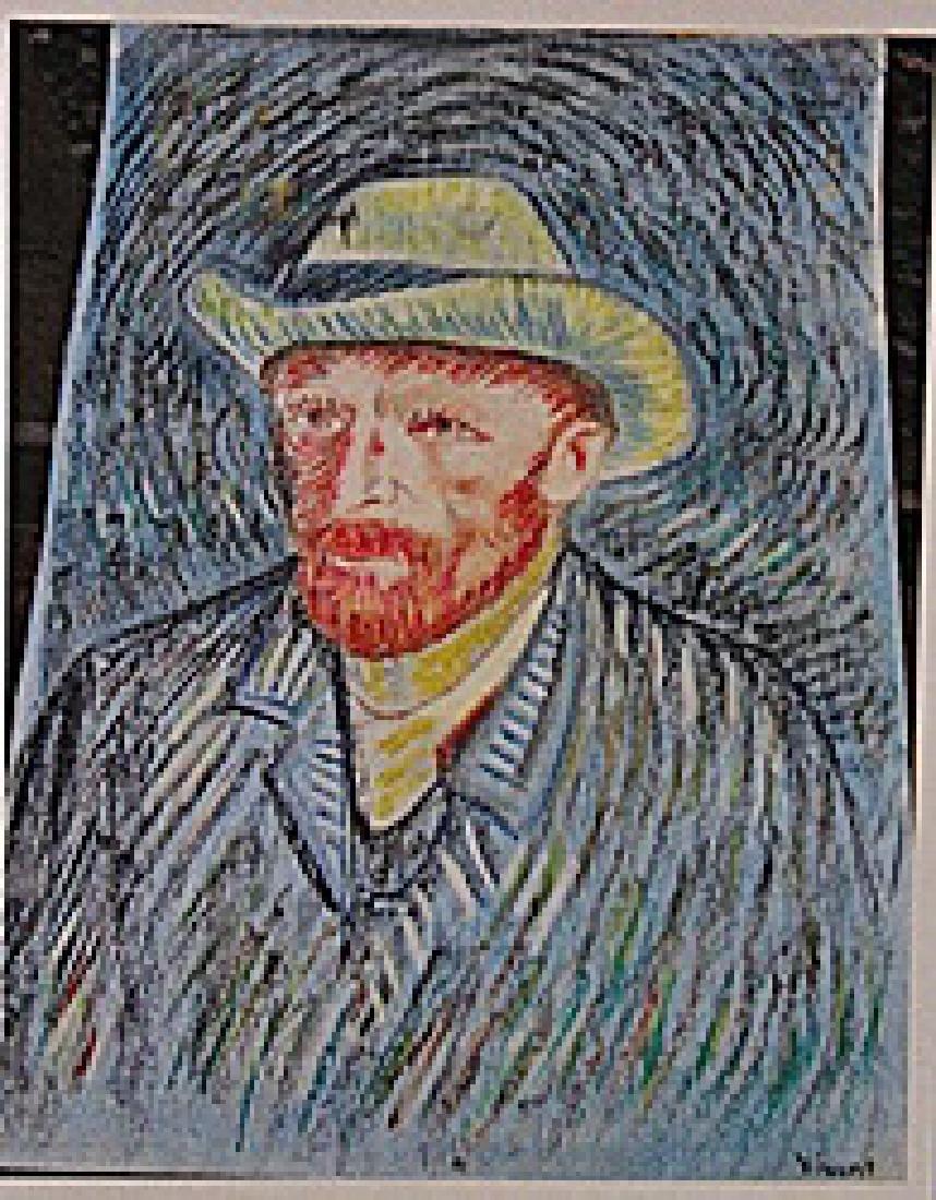 Vincent Van Gogh -Self Portrait