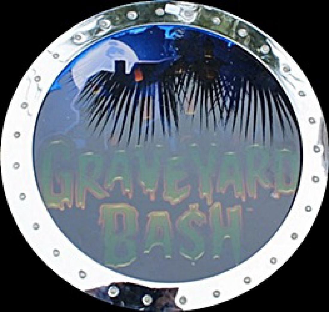 """Vintage """"Graveyard Bash"""" Casino Slots Topper. (N)"""