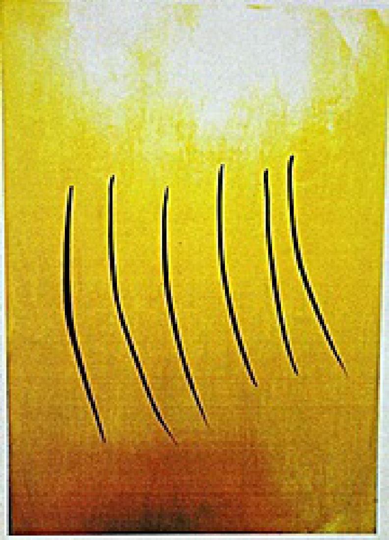 Lucio Fontana - Untitled