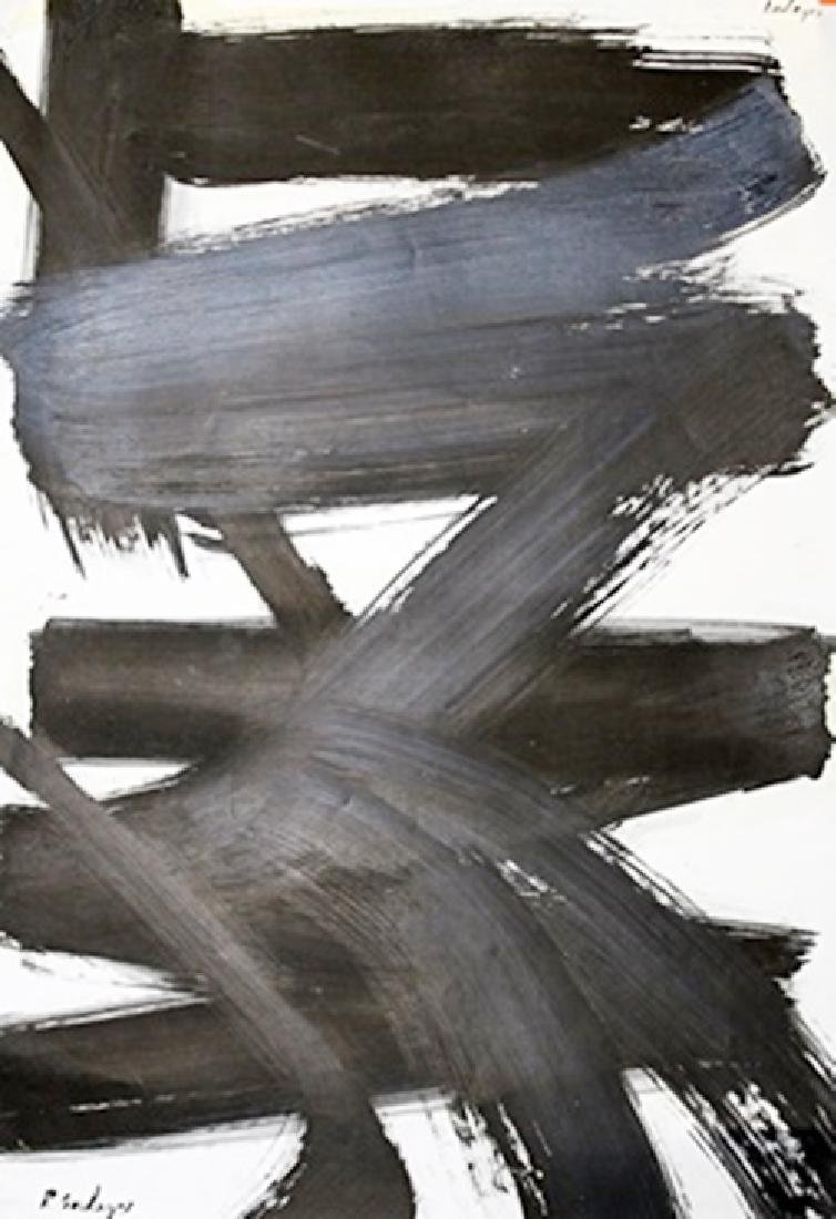 Pierre Soulages - Amatista