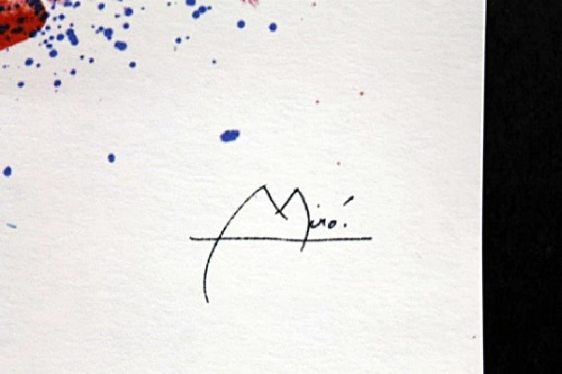 Lithograph By Joan Miro - 2
