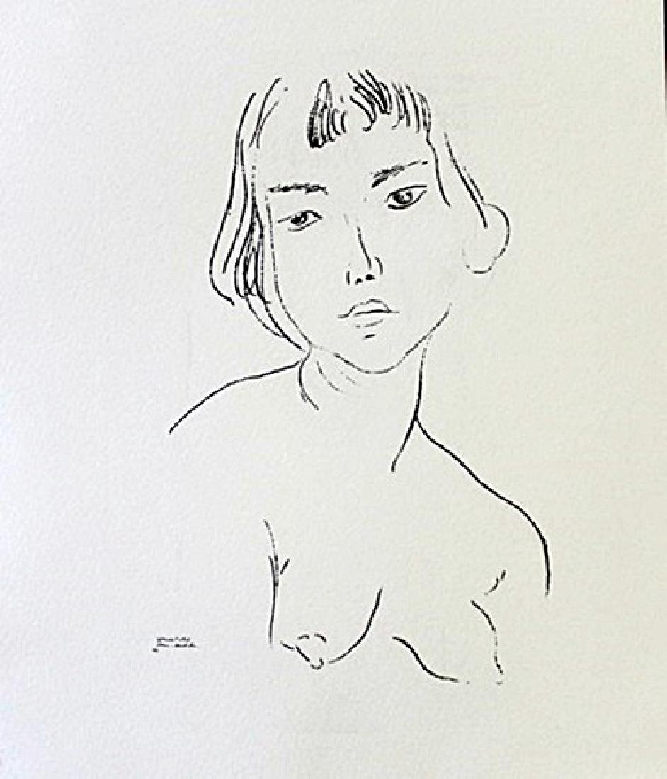 Lithograph By Henry Matisse