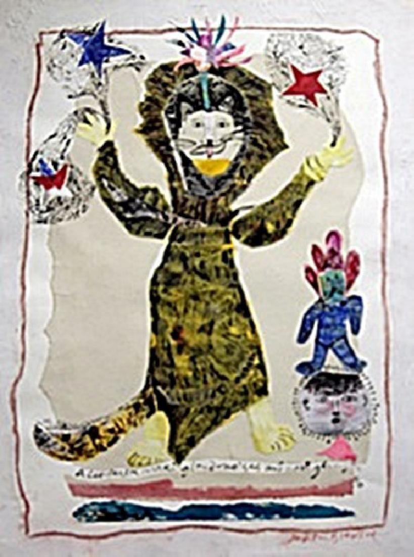 The Cat Person -  Painting by Judith Bledsoe
