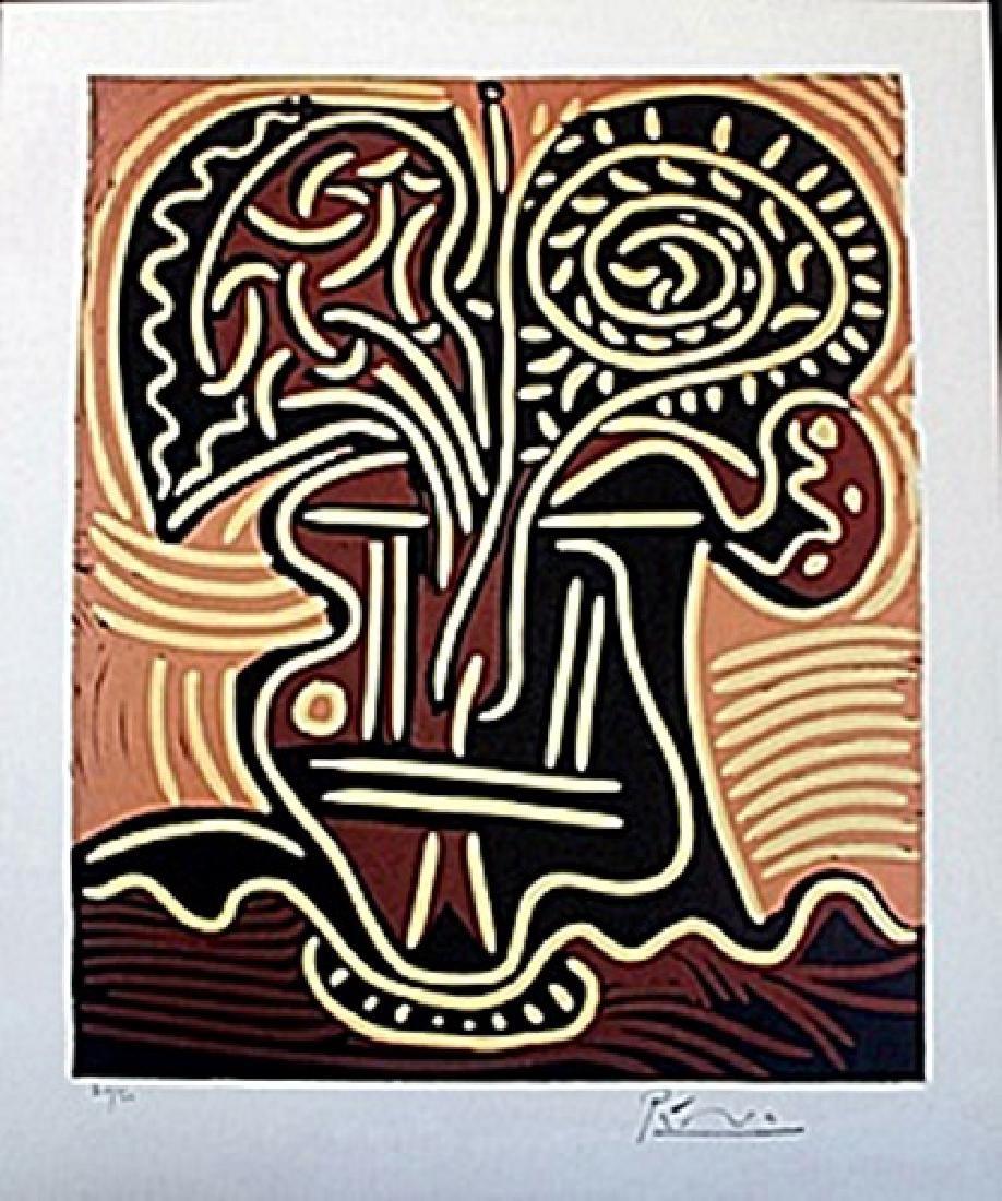 Linocut  Pablo Picasso
