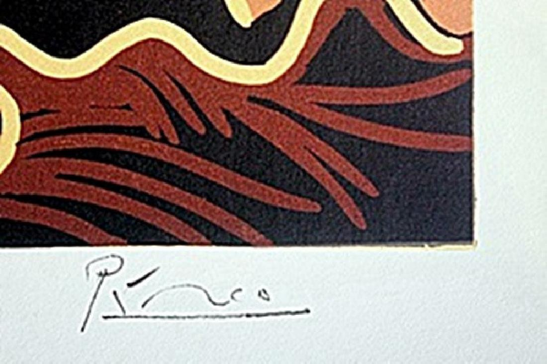 Linocut  Pablo Picasso - 2
