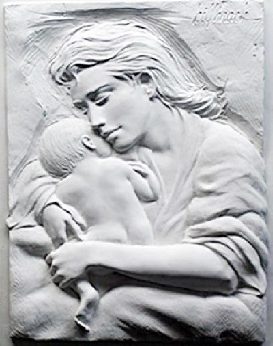 "Relief Sculptor ""Caring""  Bill Mack"