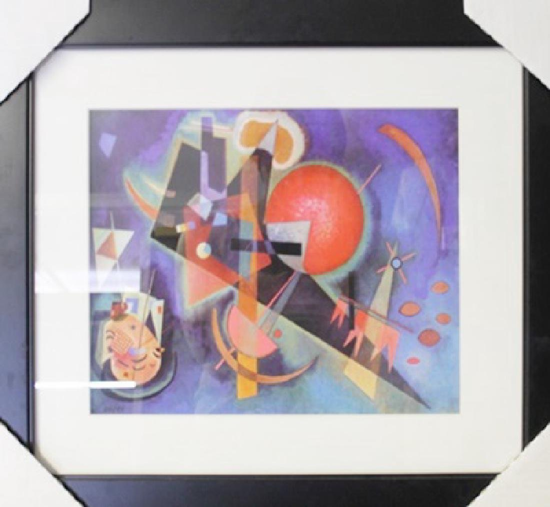 "Lithograph ""In Blue"" By Wassily Kandinsky"