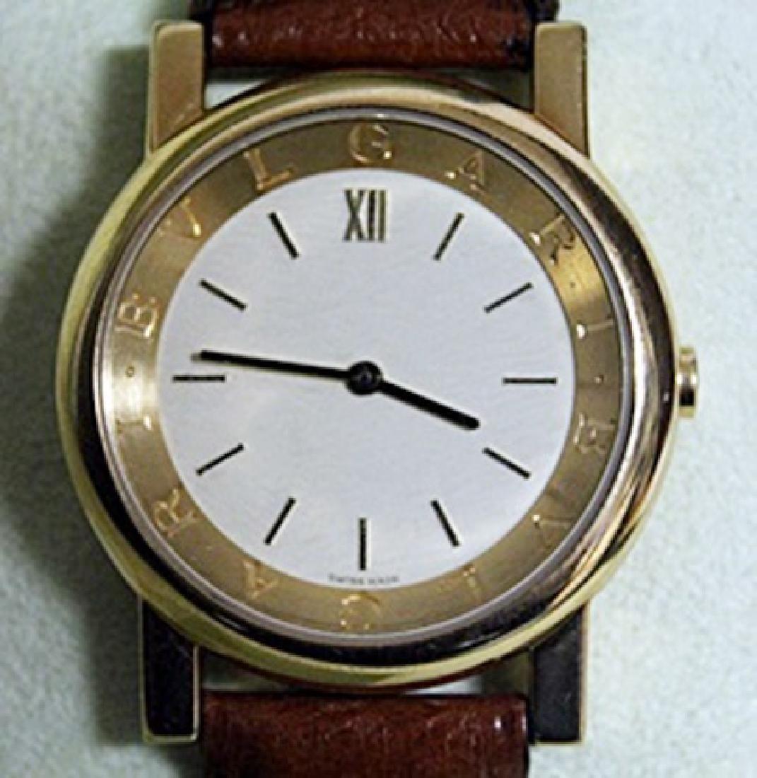 Stunning Unisex 18kt Gold BVLGARI Watch - 2
