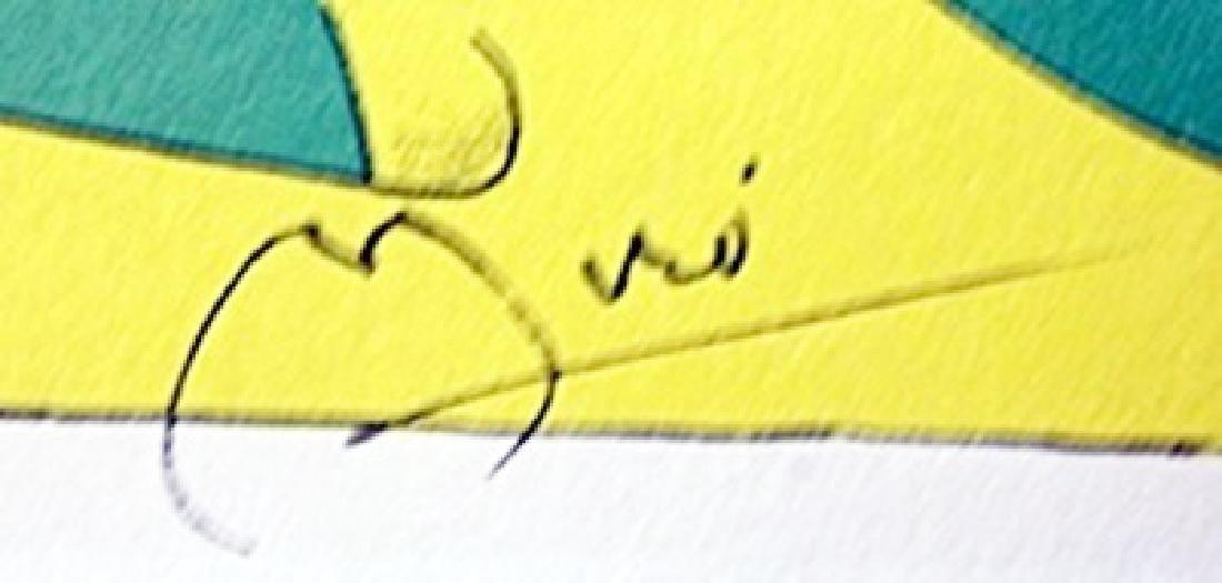 """Lithograph """"Terres Grand De Feu"""" - 2"""