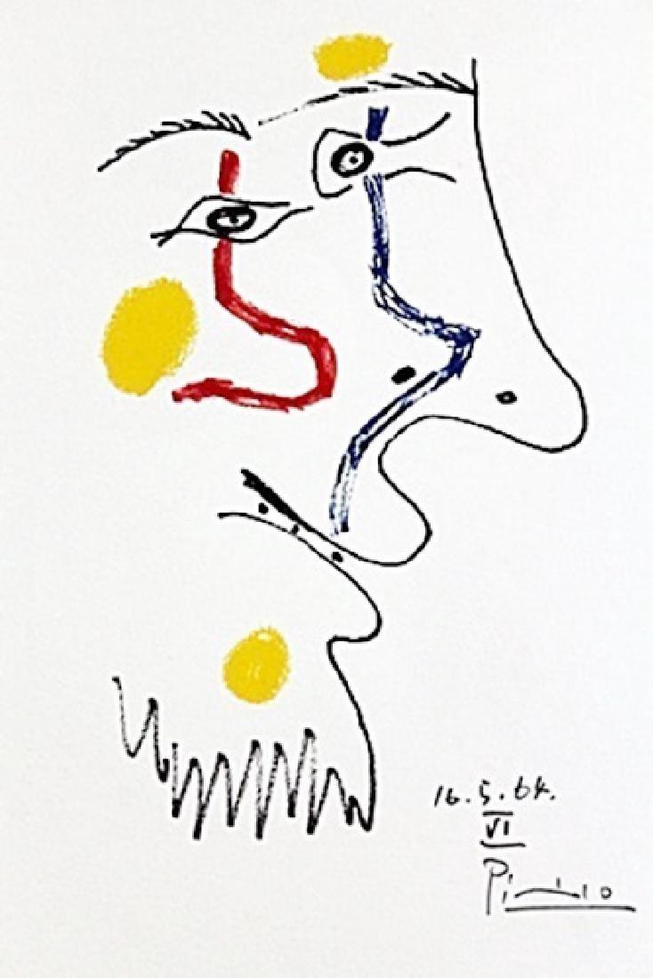 Le Fout De Bonheur BY PABLO PICASSO
