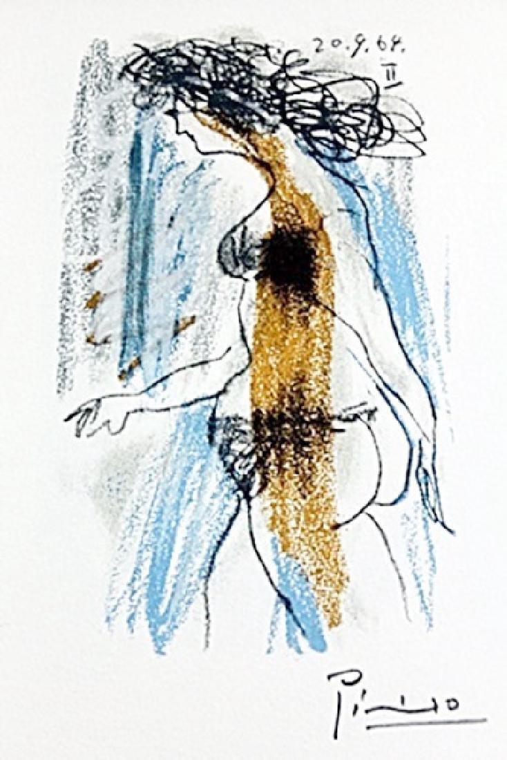 Le Gout Du Bonheur(1970) BY  PabloPicasso