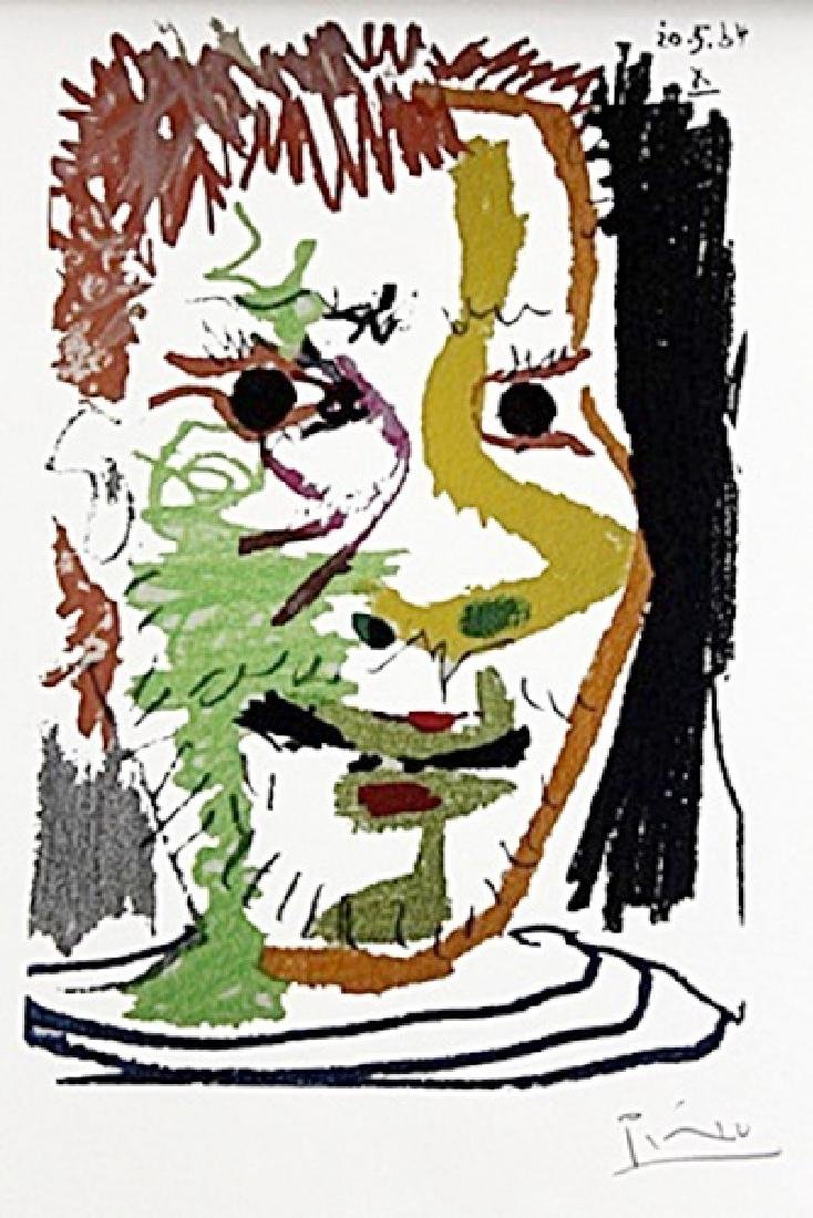 Portrét muže X BY PABLO PICASSO