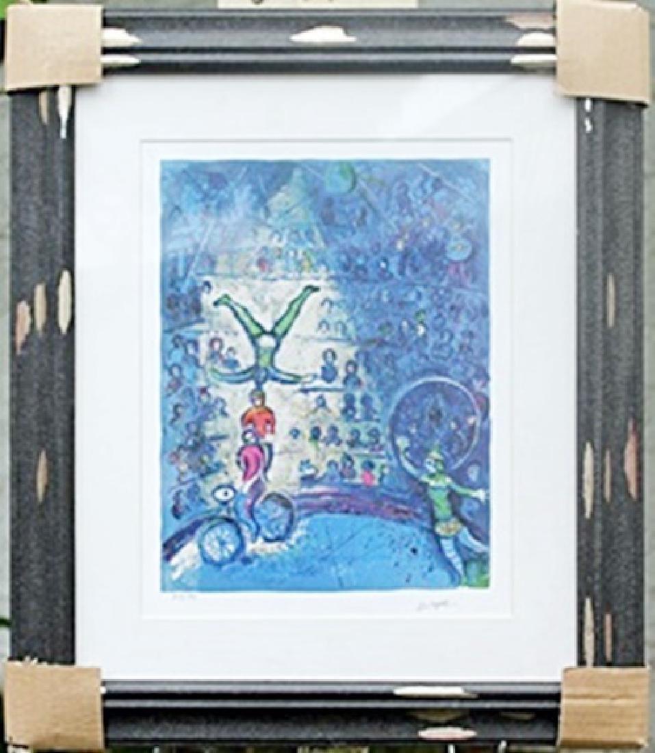 """""""Le Cirque VII""""     Marc Chagall"""