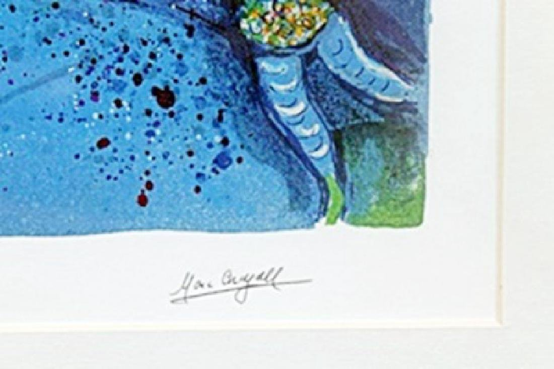 """""""Le Cirque VII""""     Marc Chagall - 2"""
