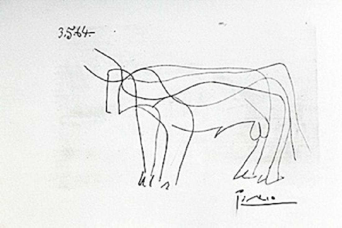 BULL BY PABLO PICASSO