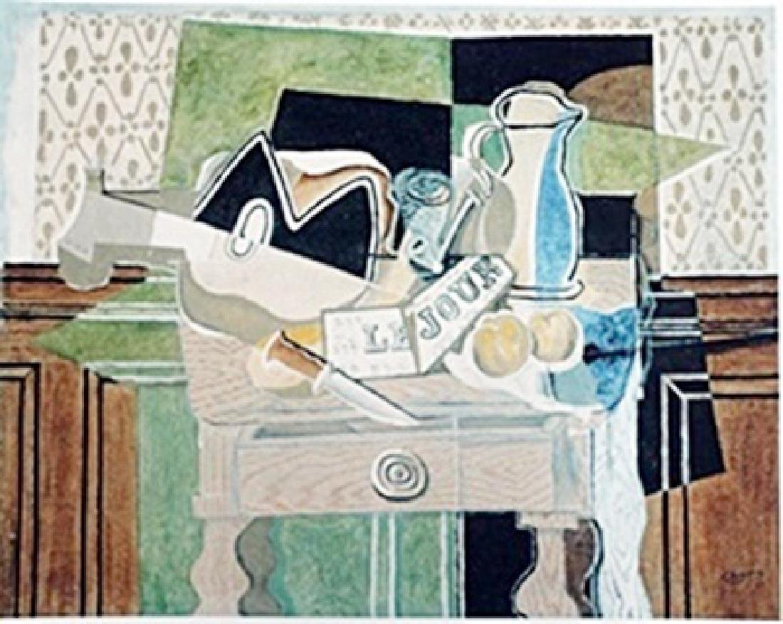 Lithograph  Georges Braque