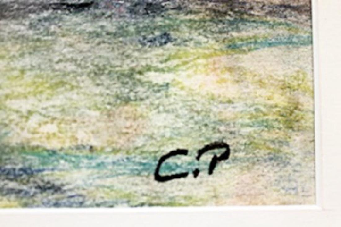 Pastel Drawing on Paper - Camille Pissarro - 2