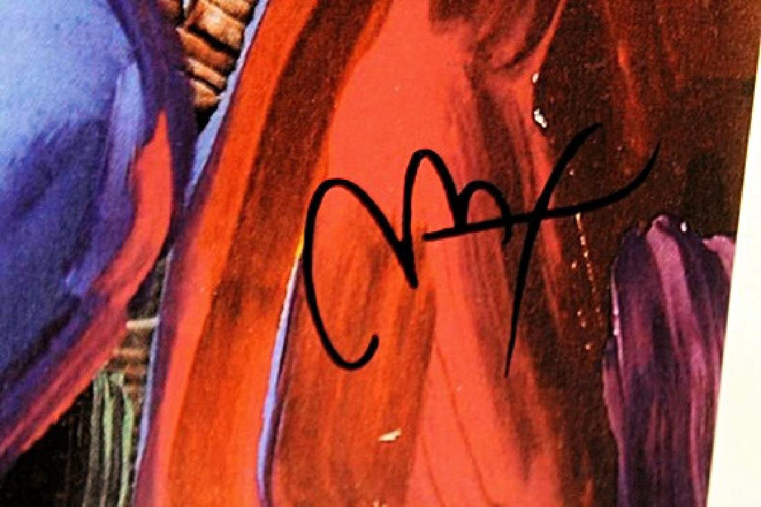 Peter Max Signed Lithograph - Marilyn Monroe - 3