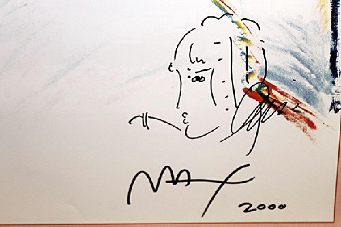 Peter Max Signed Lithograph - Statue of Liberty 2000 II - 3