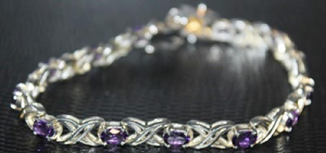 Fancy Tanzanite Necklace.