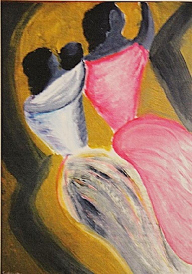 David Alfaro Siqueiros - Two Woman