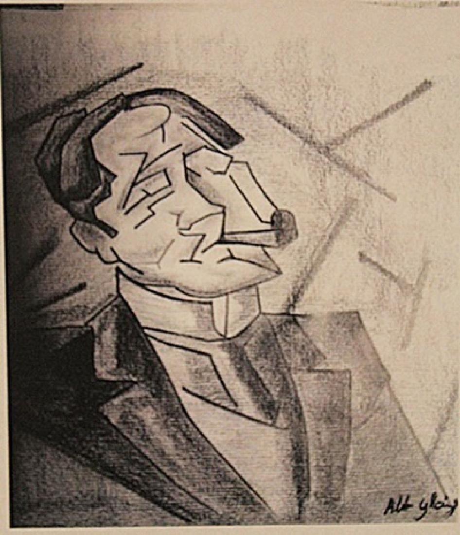Albert Gleizes - Portrait Of Estefano