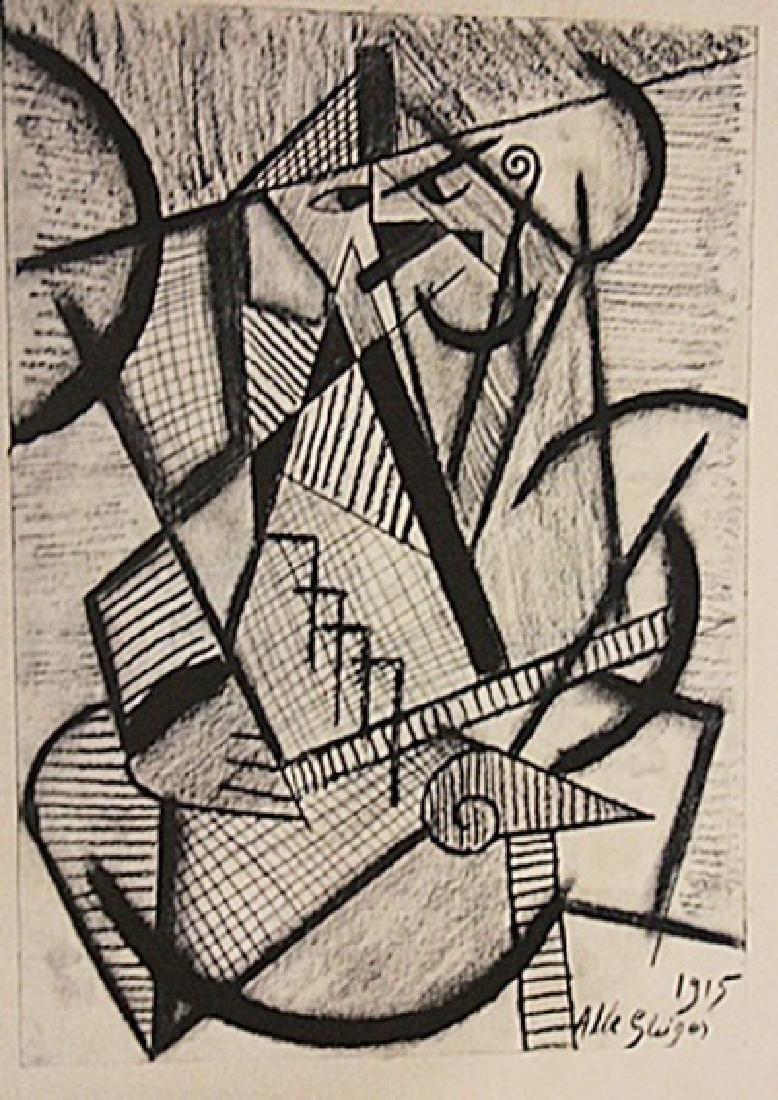 Albert Gleizes - Man And Table