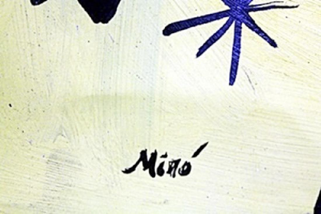 Oil Painting on Paper by Joan Miro - 2
