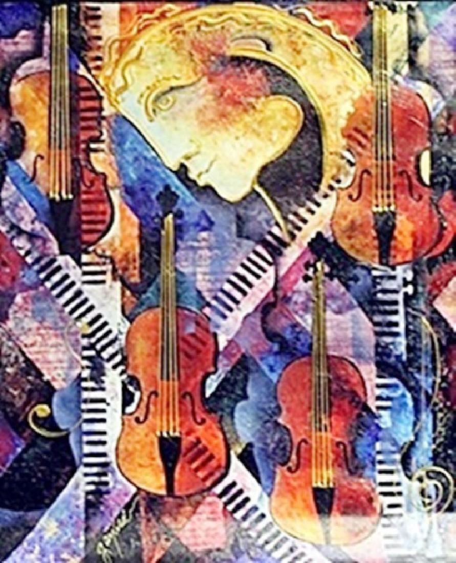 """Violins of Mozart""     Gaylord Soli"