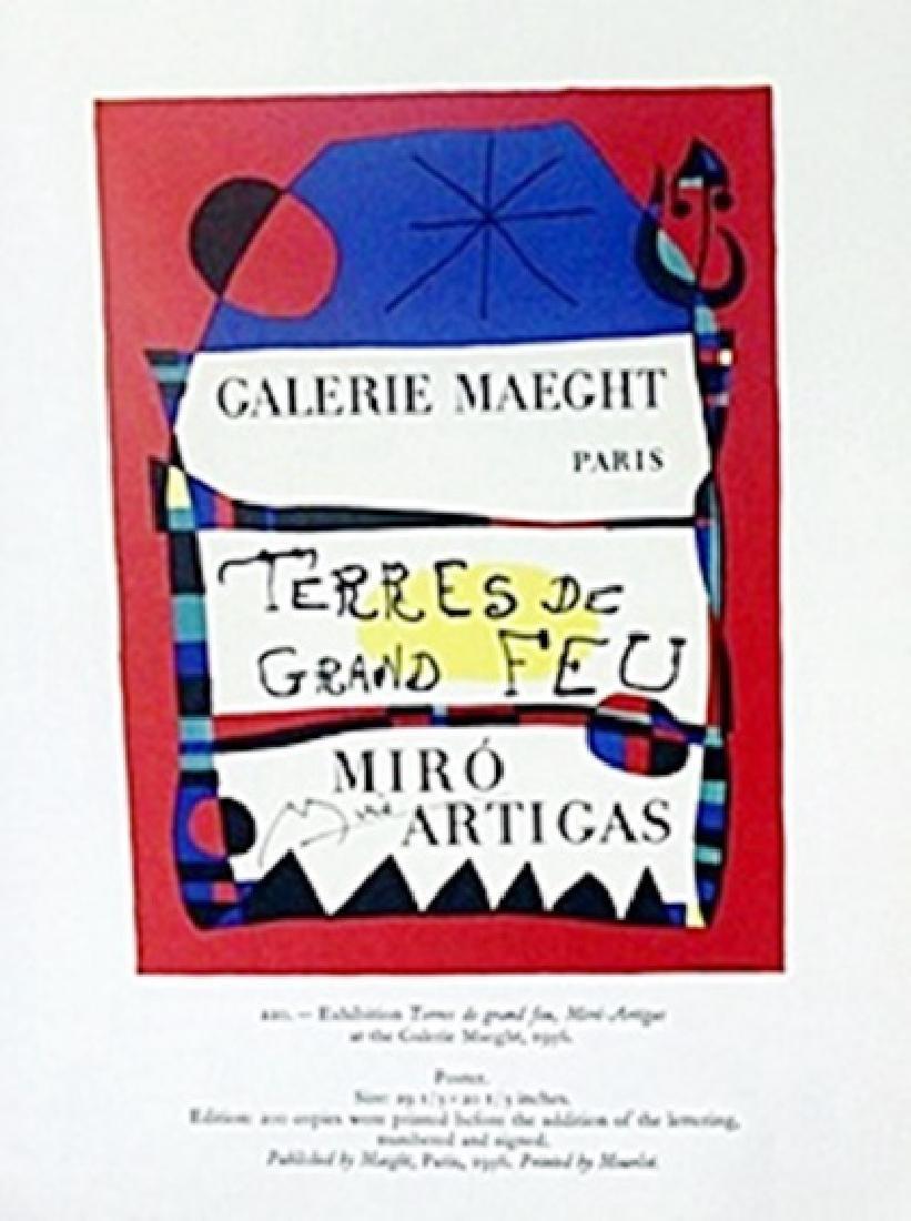 "Print ""Gallerie Poster""     Joan Miro"