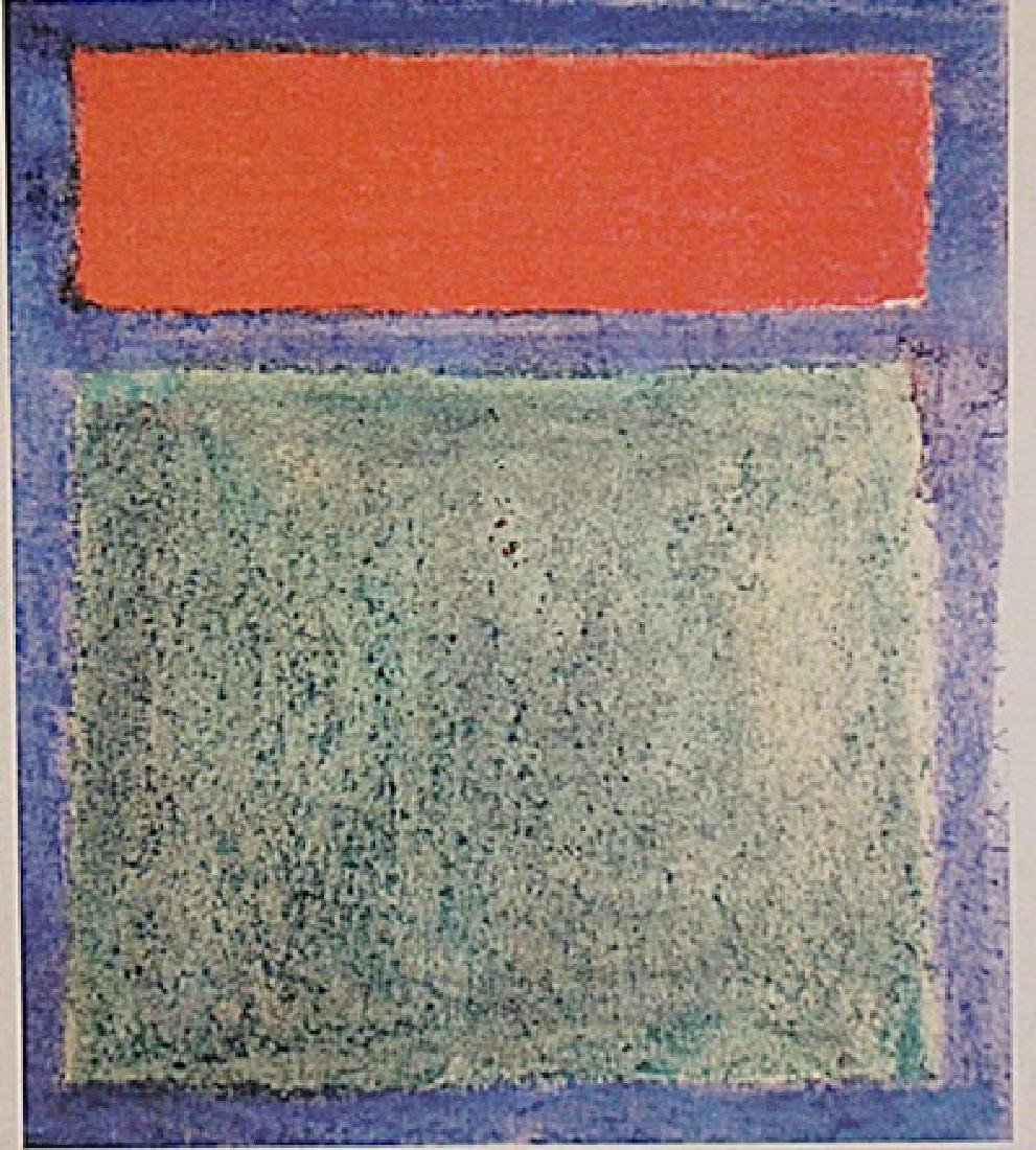 Mark Rothko - Red,Blue,And Green