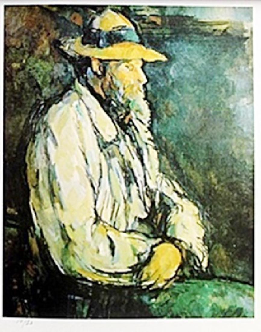 Lithograph   Paul Cezanne