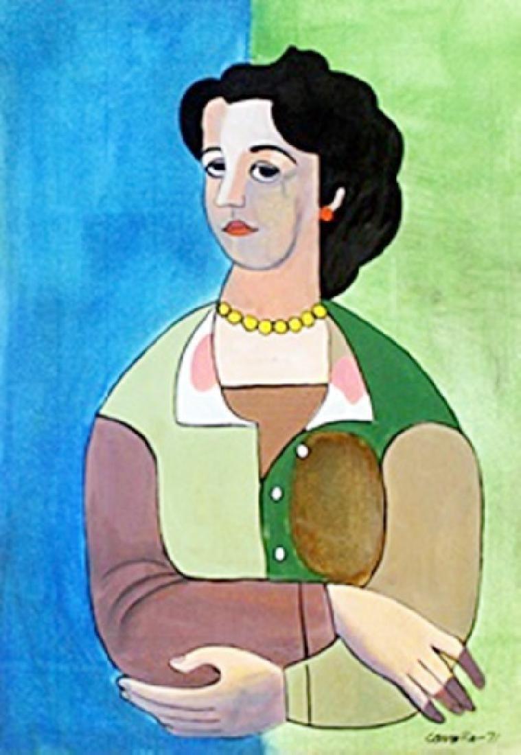 Portrait of a Woman - Mario Cerreno