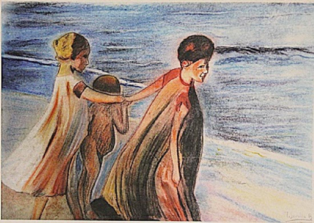 Joaquin Sorolla - Walk In The Beach