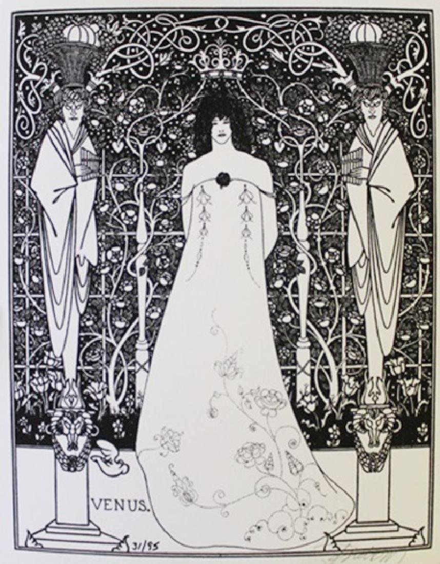Lithograph By Aubrey Beardsley