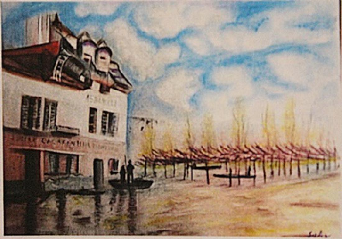 Alfred Sisley - Port Marly